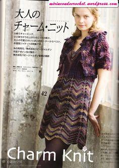 Hermoso vestido en zig zag...!!!