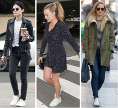 , Celebrity Street Style of the Week: Lucy Hale, Margot Robbie, & Bar Refaeli , Every week, I scour the web to find inspiring outfits on your favorite celebs and help you recreate their looks! This week, I was inspired by Lucy Hale, Margot Robbie, and Bar Refaeli, who all rocked white sneakers. Read on to see how you can get their looks for yourself.Look 1: Lucy Hale's ... , Demi - University...