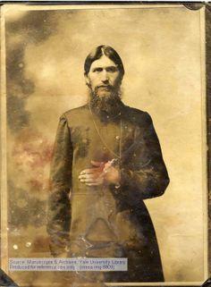 Grigory Rasputin. Ethnically Russian people. old photo