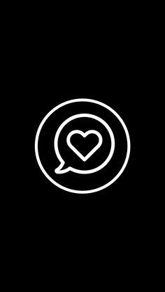 Heart Wallpaper, Trendy Wallpaper, Black Wallpaper, Instagram Logo, Instagram Feed, Instagram Story, Black Highlights, Story Highlights, Birthday Captions Instagram