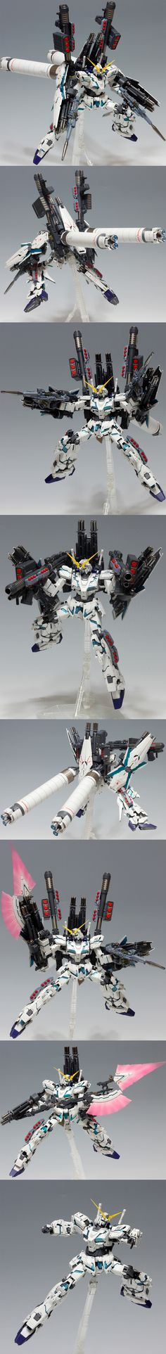 """MG Full Armor Unicorn Gundam Ver.Ka Remodeled by TEAM_SKY """"Karna"""" Full Photoreview Wallpaper Size Images, Info   GUNJAP"""