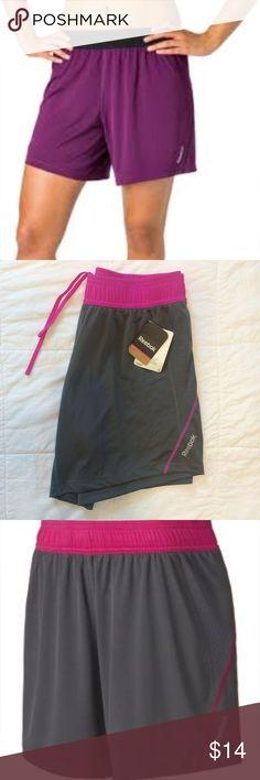 "Reebok 7"" training short Brand new from dicks sporting goods, reebok 7"" training shorts. Pink and gray. Reebok Shorts"