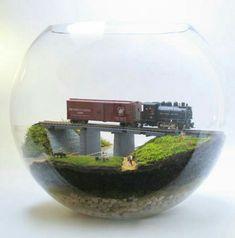 Bonsai Terrarium For Landscaping Miniature Inside The Jars 92 #terrarios