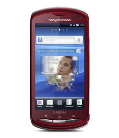 #Sony Ericsson #Xperia Pro MK16i червен нов с 24 месеца гаранция