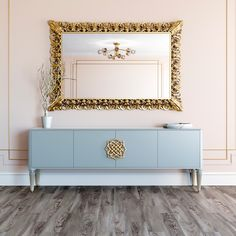 High End Luxury Lacquered Sideboard