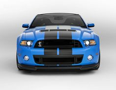 Ford Mustang Shelby GT 500 V8 2013, o motos mais potente do mundo