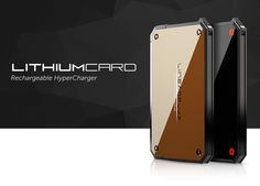 Charge Your Phone Twice As Fast With LithiumCard 'Hypercharger'; -  [Click on Image Or Source on Top to See Full News]