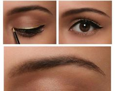 This Gold Eyeliner is Awesome