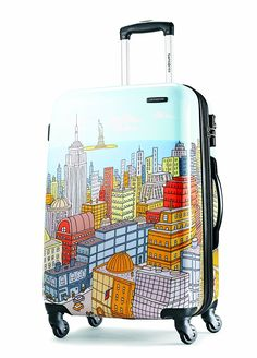 Samsonite Luggage NYC Cityscapes Spinner 24 >>> Want additional info? Click on the image.