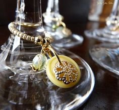 Wine Charms Set