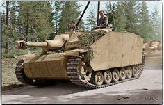 Sturmhaubitze 42 L/28 Ausf. G, Sturmgeschütz-Brigade 303 in Karelian Isthmus, Sth.Eastern Finland, August 1944
