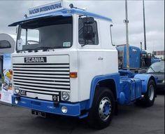 TRUCK - SCANIA Semi Trailer, Vintage Trucks, Retro Cars, Classic Trucks, Cars And Motorcycles, Cool Cars, Tractors, Volkswagen, Transportation