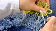 Haarukkavirkattu huivi - Strömsö Crochet Stitches, Knit Crochet, Hairpin Lace, Funny Slogans, Practical Gifts, How To Look Pretty, Hair Pins, Retro Fashion, Sewing