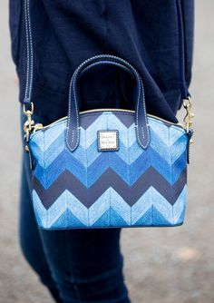 Colorful Bag, Dooney & Bourke Bag, Cobalt Bag, Versatile Handbag