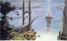 Rodney Matthews... Used to have a massive poster of this as a teenager.