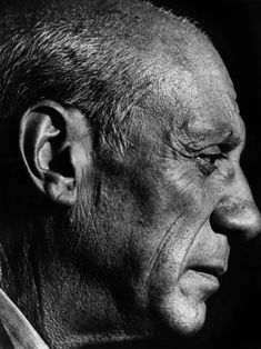 Portrait of Pablo Picasso by Marcos Chamudes, 1948