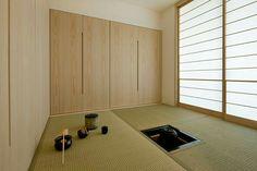 b8085daa2 Washitsu, Zen Room, Japan Architecture, Pretty Room, Tatami Mat, Tatami Room