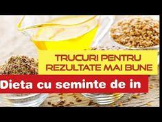 Dieta cu seminte de in. Beneficii, contra inflamatii de intestine si indepartare pietre rinichi - YouTube Omega 3, Metabolism, Cereal, Cancer, Breakfast, Youtube, Food, Morning Coffee, Meals