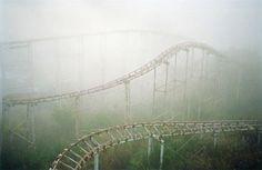 amusement park spooky!