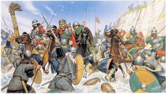 Viking Invasion of England - Angus McBride