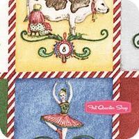 Christmas Days Multi Patchwork YardageSKU