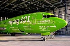 Funny plane from Kulula Airlines in South Africa.