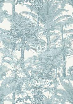 Palm Botanical - Spa Blue