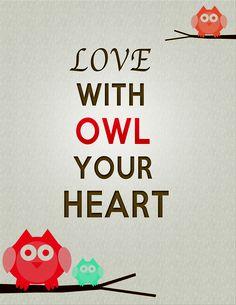 Owl Sayings www.loveatfirstlocketCanada.origamiowl.ca
