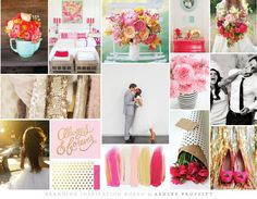 Branding Inspiration Board | Dear Sweetheart Events | Branding Development by Ashlee Proffitt