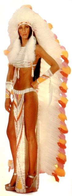 Cher in the Half Breed video 1972