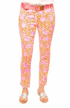 GripeLess Cotton Spandex Jeans - Flamingle