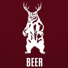 Bear+Deer=BEER. The classic beer drinkers shirt. Its a bear, a deer…a BEER. The Tapped Life version features our full-bodied BEER, perfect for the BEER drinker in your life (and we know that may be yo