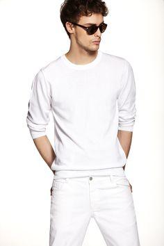 Koton - Erkek 2012 İlkbahar/Yaz All White, My Man, Men's Style, Male Style, Men Fashion, Style Men, Man Style, Male Fashion