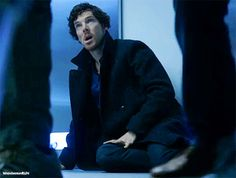 """This is one of my favourite smiles of Ben. EVER """"Sherlock - Series 4 - Behind the scenes - Script to screen """""""