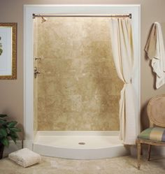 i like the idea of a really stunning shower that still has an easyto