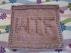 Ravelry: WTF Dishcloth pattern by holynarf (Lindsay)