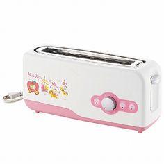 Hello Kitty pop-up toaster Hello Kitty Toaster, Hello Kitty Kitchen, Pop Up Toaster, Hello Kitty Items, Hello Kitty Collection, Pet Mat, Sanrio, Nerd, Geek Stuff