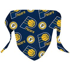 Hunter NBA Indiana Pacers Pattern Bandana for Pets,  Small/Medium * undefined