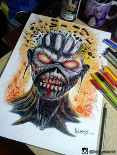 iron maiden the book of souls by FredGuerazzi on DeviantArt