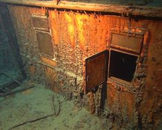 As the world marks the anniversary of the legendary sinking of the Titanic, here are 10 images of the wreck as captured by National Oceanic and Atmospheric Association and others. Titanic Ship, Rms Titanic, Nautilus Submarine, Titanic Underwater, Titanic Artifacts, Titanic History, Expansion Joint, Sea Floor, Time Pictures