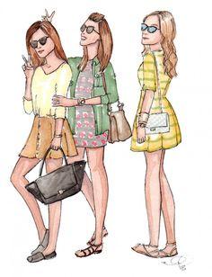 Gala Gonzalez illustration