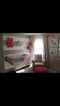 Cute little girls room.