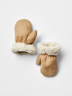 Sherpa mittens Product Image