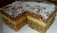 Najbolji domaći recepti za pite, kolače, torte na Balkanu Slovak Recipes, Czech Recipes, Hungarian Recipes, Baking Recipes, Cake Recipes, Dessert Recipes, Yummy Cookies, Yummy Treats, Croation Recipes