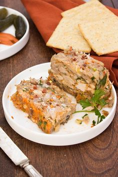 Hog Head Cheese - Inspired by a 1920's recipe, this vintage recipe is packed with pork and has a fantastic vinegar and chili flake kick! A fantastic addition to a charcuterie board. #zestyrecipe #vintagerecipe