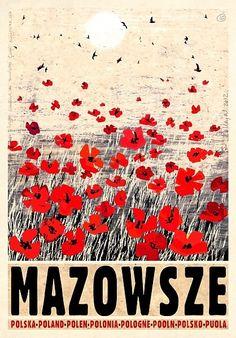 Mazovia, Poland Mazowsze, Polska Kaja Ryszard Polish Poster.pl