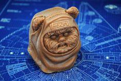 Handmade Ewok Wicket Soap  Star Wars Christmas gift by NerdySoap