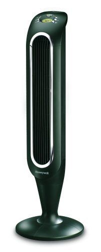 Honeywell Fresh Breeze Tower Fan with Remote Control Black With Programmable Thermostat, Timer Shut-Off Function & Dust Filter - Computers Features - Home & Garden - Frequently updated comprehensive online shopping catalogs Best Floor Fan, Dust Filter, Air Filter, Cooling Tower, Tower Fan, Heating And Cooling, Flashlight, Remote, Cool Stuff