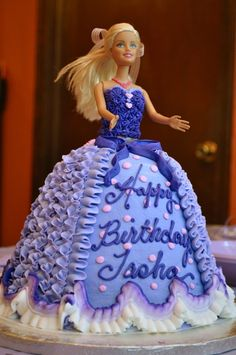Barbie Birthday Cake! I had one of these cakes...many years ago...LOL