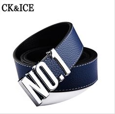 2016 New Smooth Buckle Belts High Quality Genuine leather Belt For Men Women Fashion Mens Belts Luxury Belts Male Strap